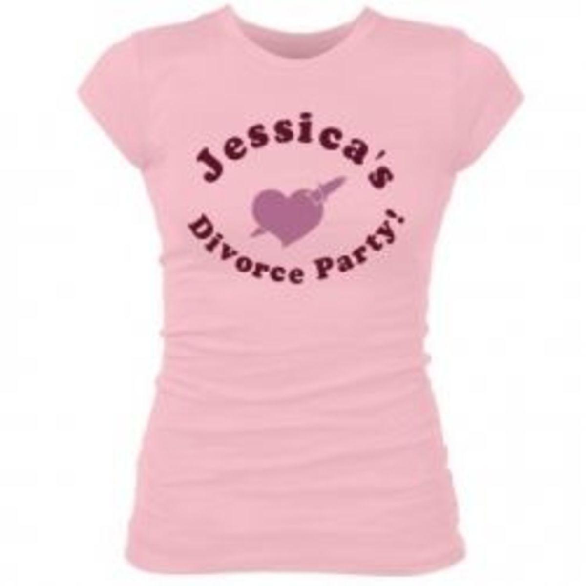 Divorce Party T Shirt