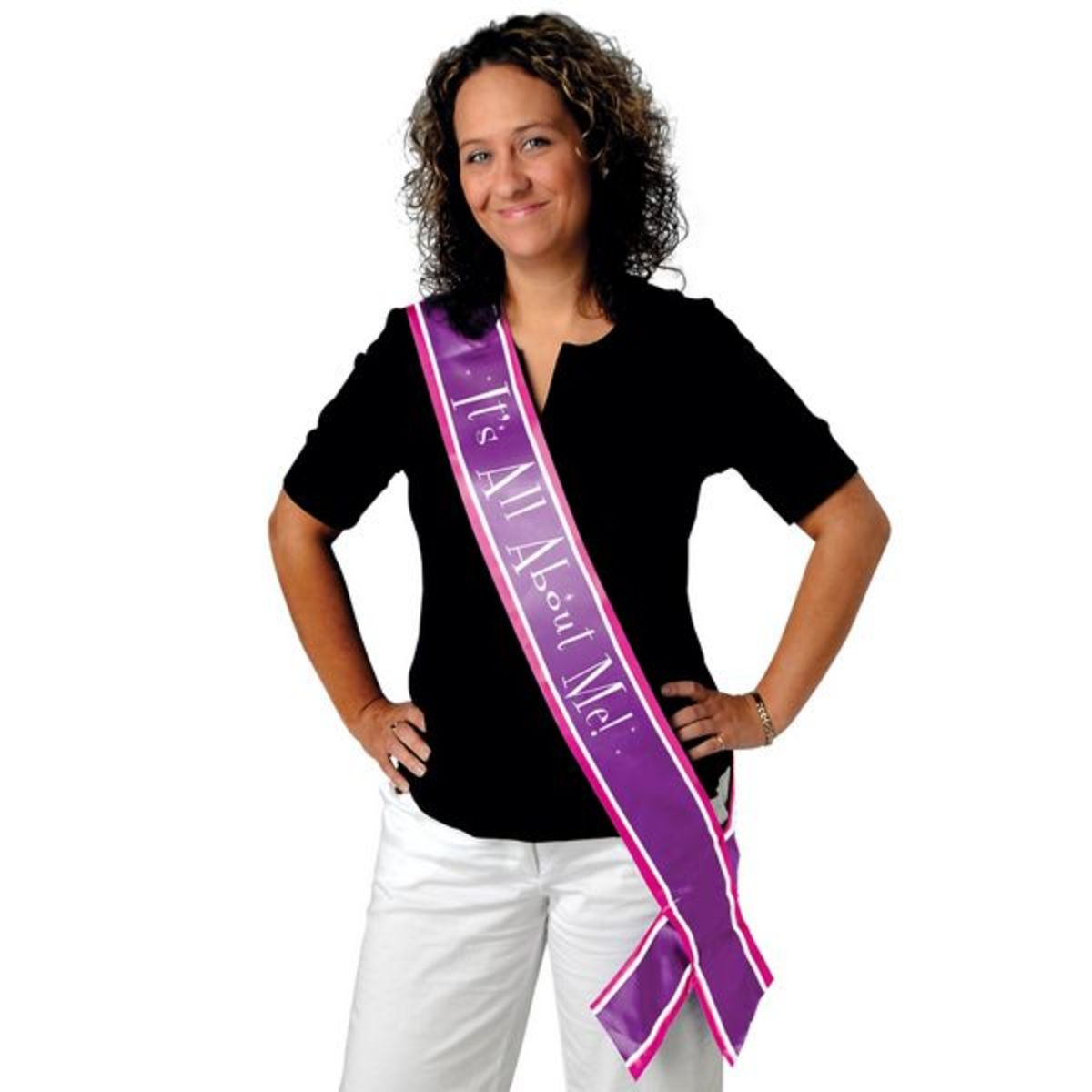 Party Sash for the Divorcée of Honor