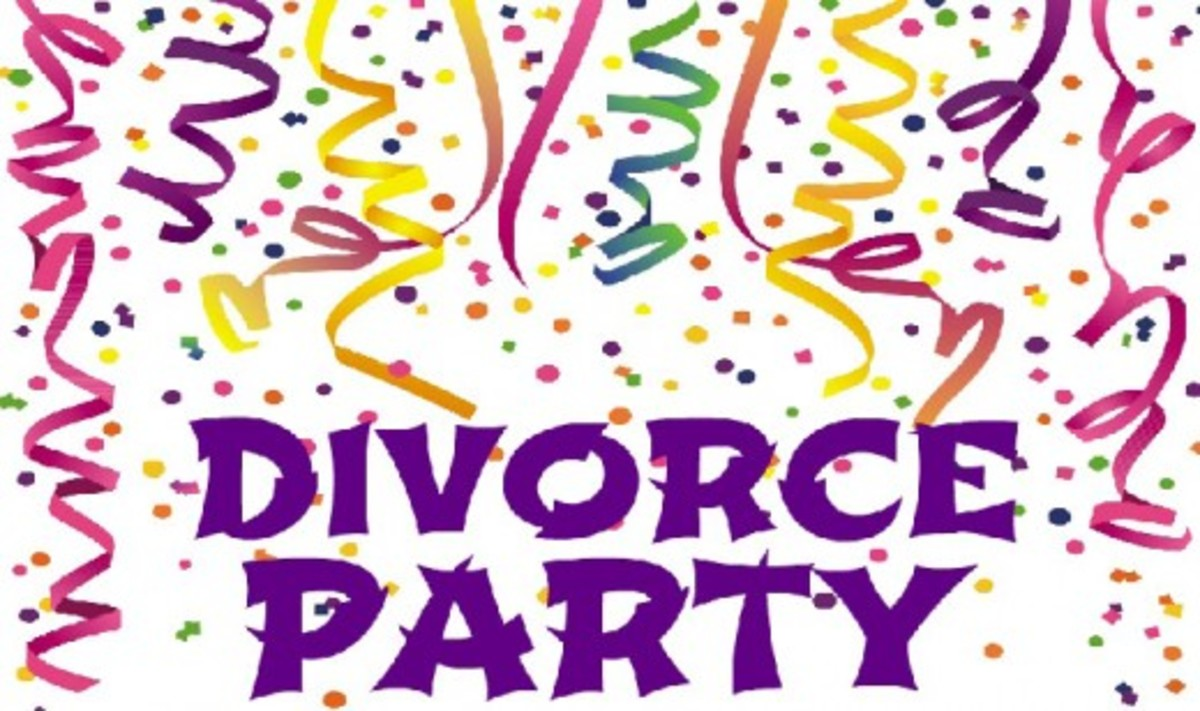 DIVORCE PARTY: Ideas, Themes, Decorations, Gifts, Games & Cakes
