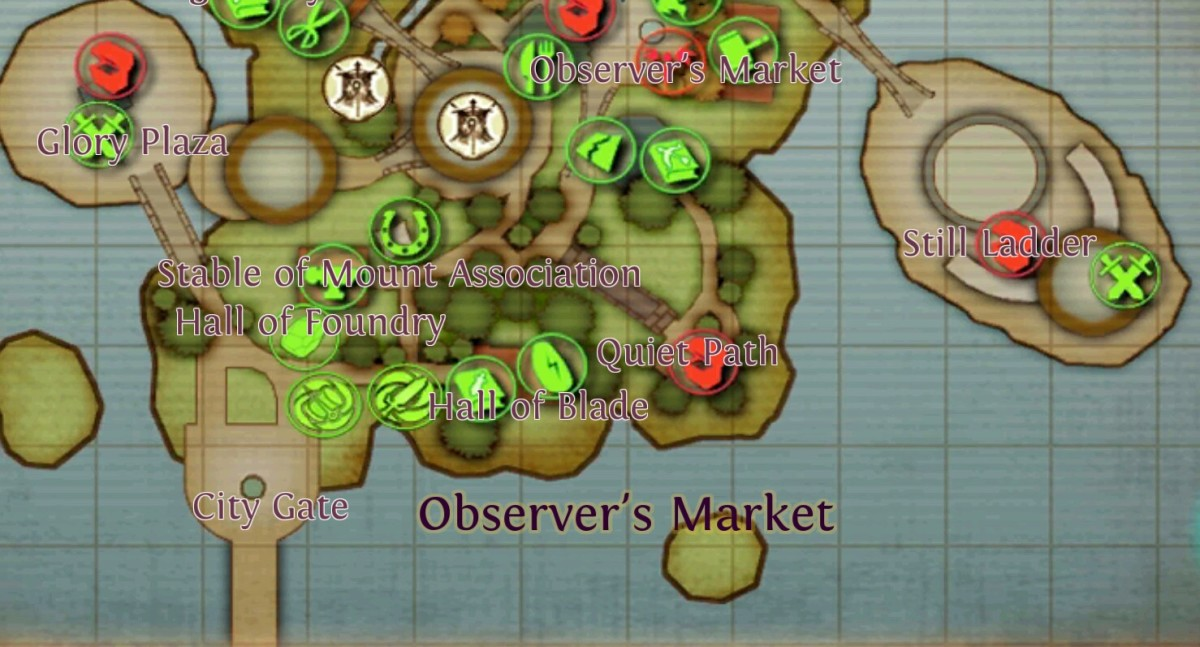 In Order and Chaos online, trade honor points for arena points in the Still Ladder or Glory Plaza in Greenmont.