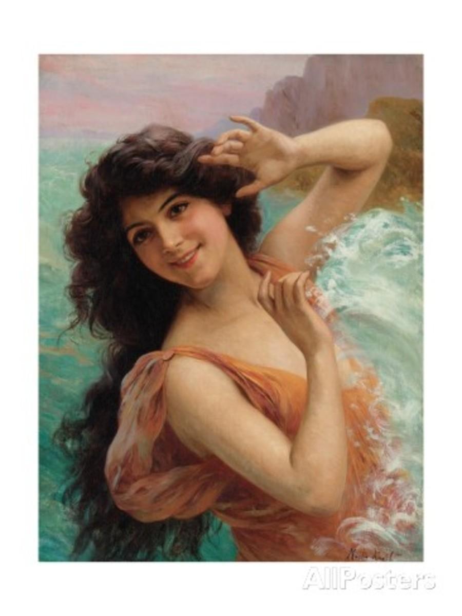 Francois Martin-kavel Water Nymph