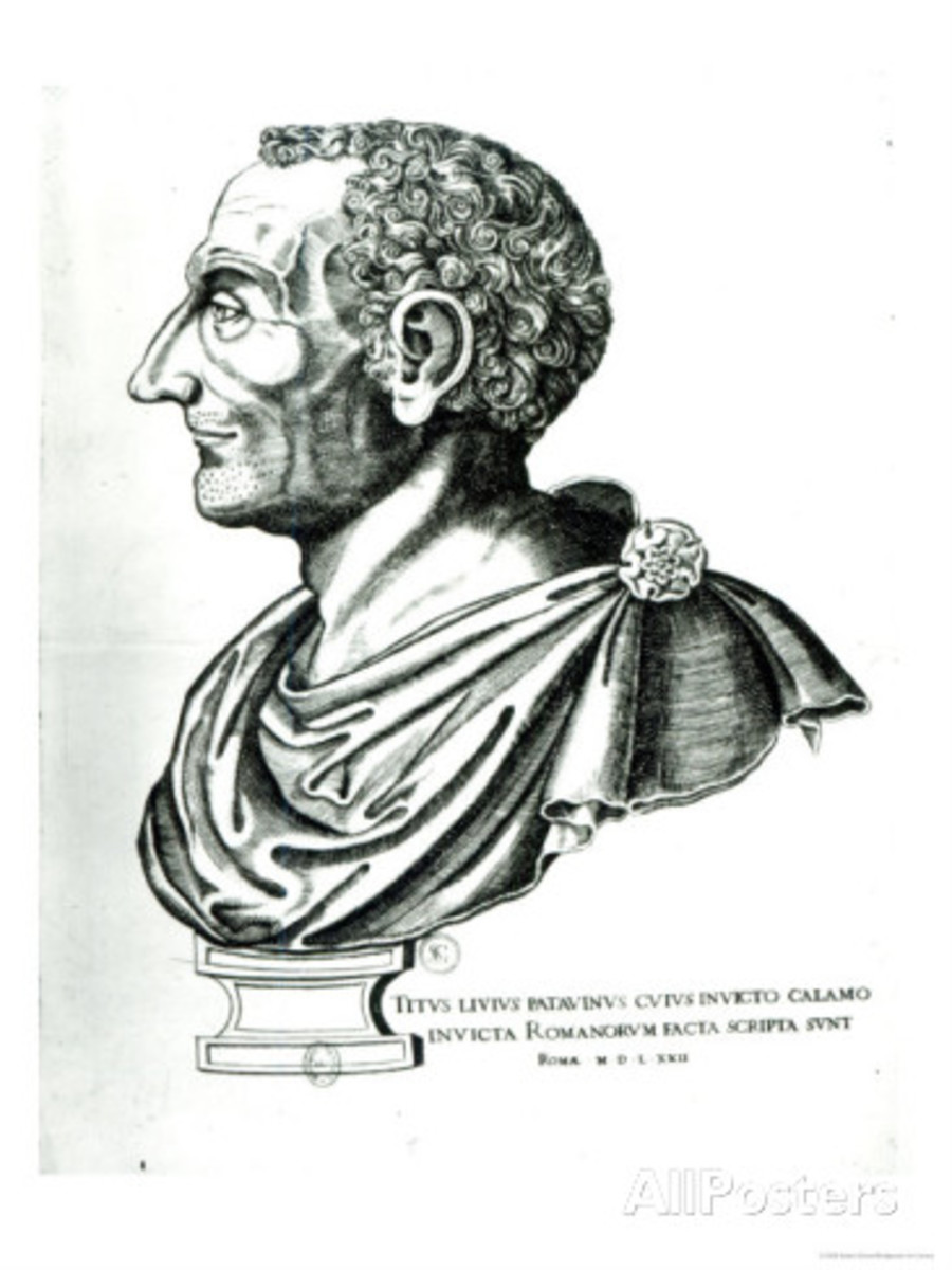 Portrait Bust of Titus Livius Known as Livy