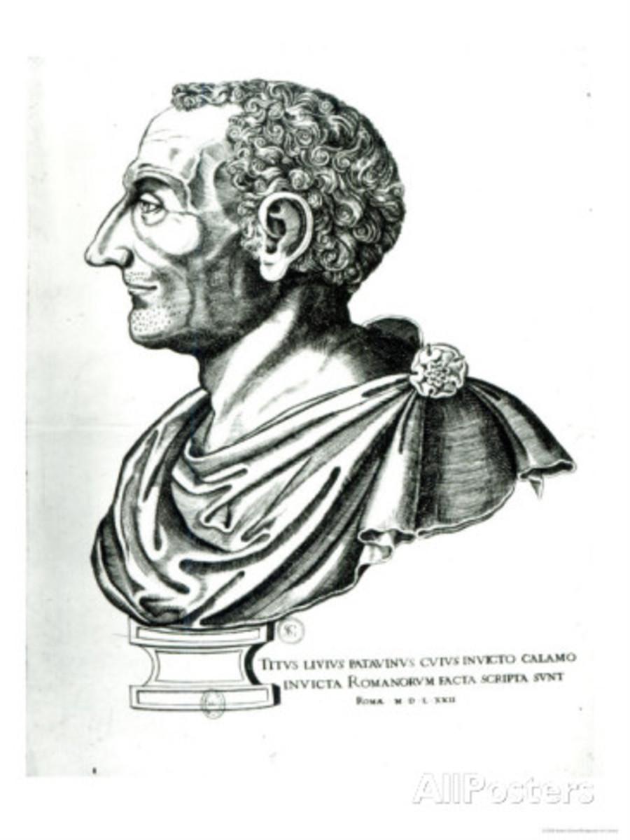 Portrait Bust of Titus Livius Known as Livy