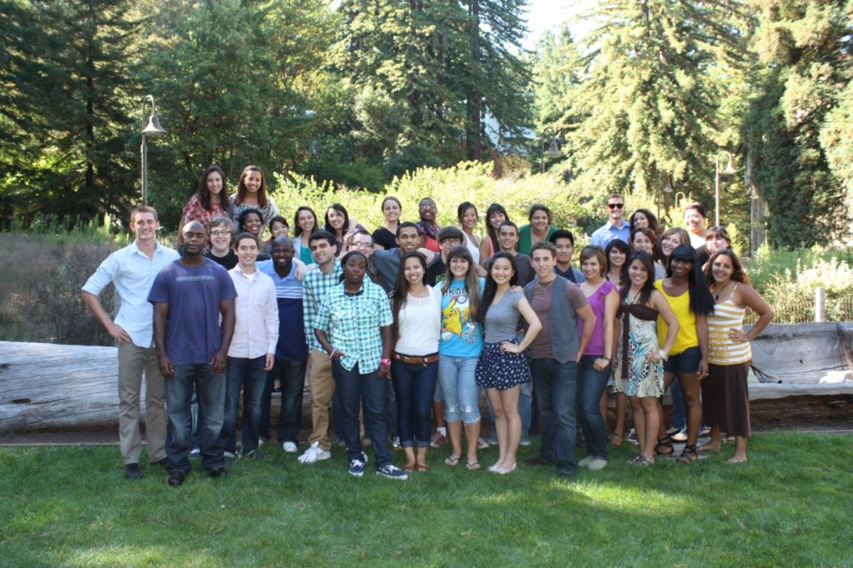 My RA team from 2011.  I am still close with many of these people.