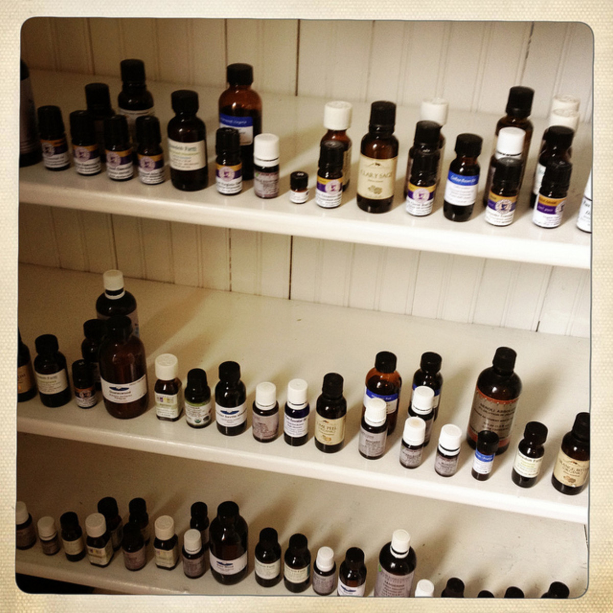 Essential oils are available in a wide range of varieties.