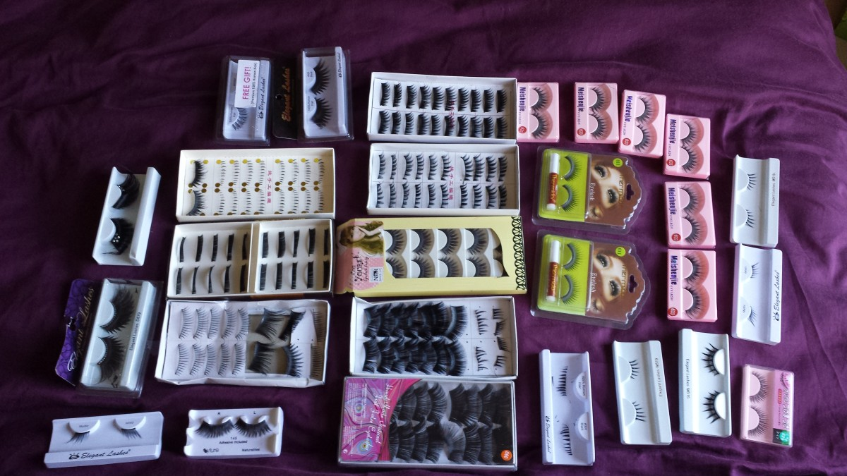 I have a bit of an eyelash addiction!