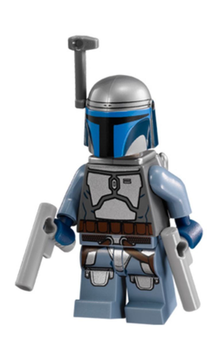 Jango Fett. Skilled hunter. Powerful fighter. Adorable Lego.