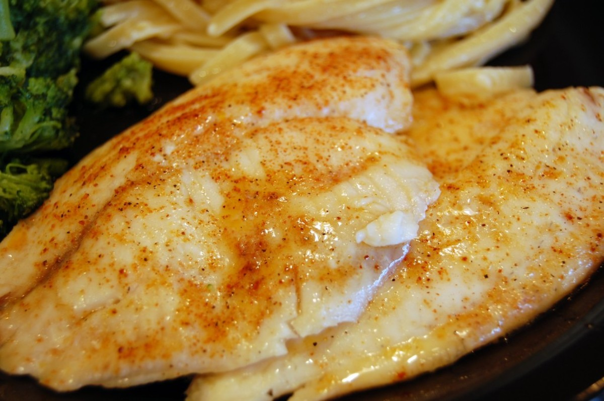 I really love anything that comes out of the sea it really does not matter what it is as long as it's eatable and today I want to share my recipe for some broiled white fish that I am sure you can make.