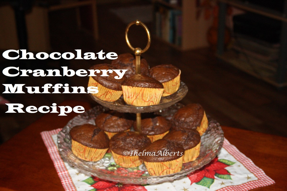 How To Bake Chocolate Cranberry Muffins