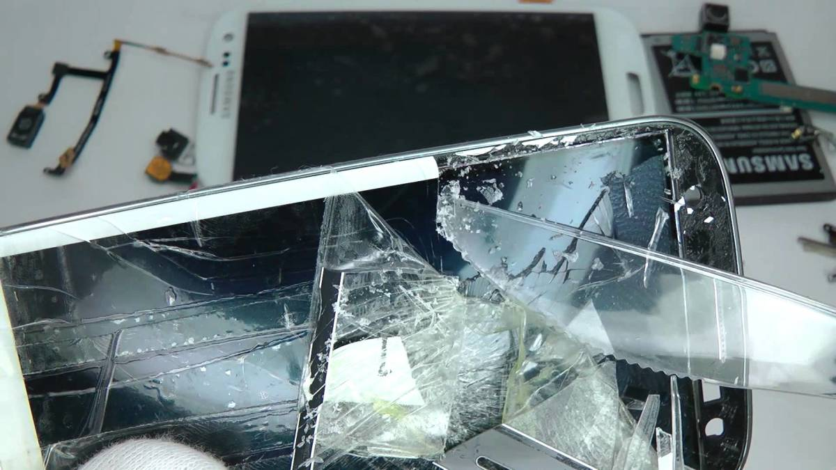 Broken Galaxy Phone