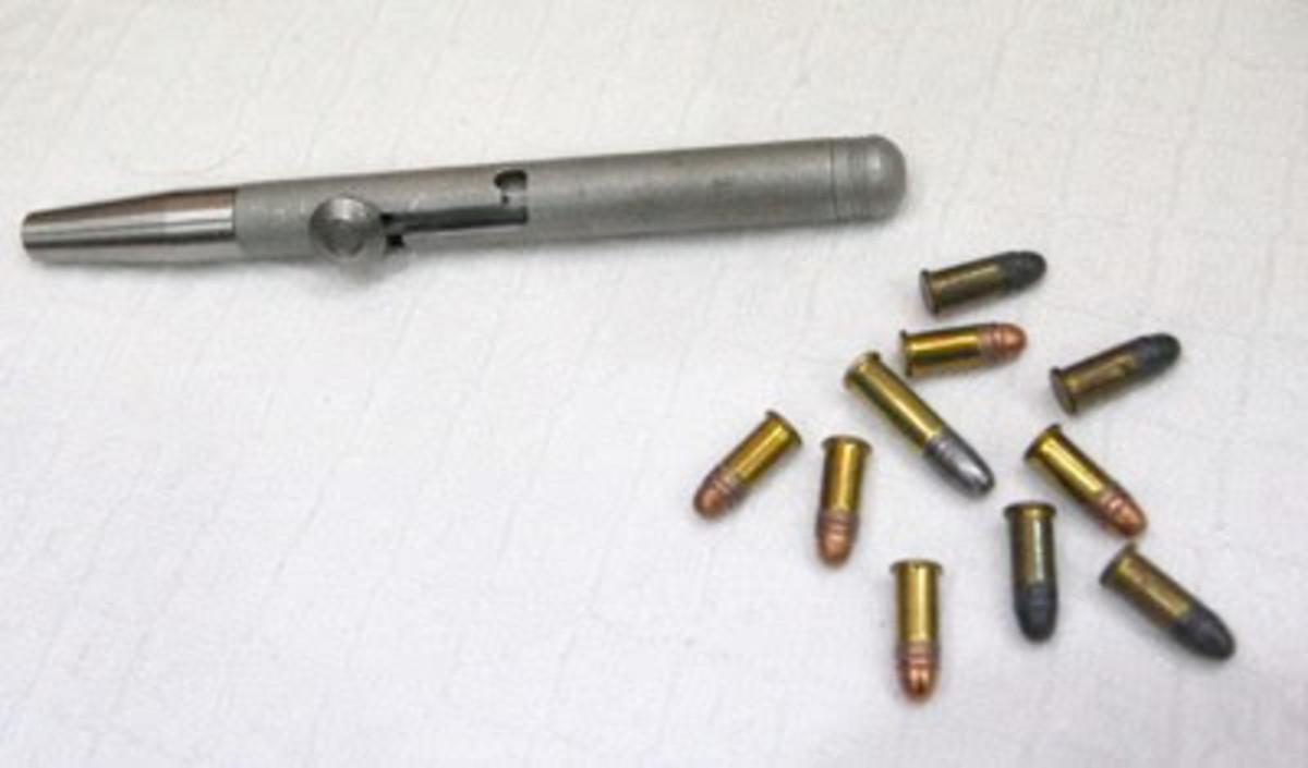 Small caliber 0.22 pen pistol