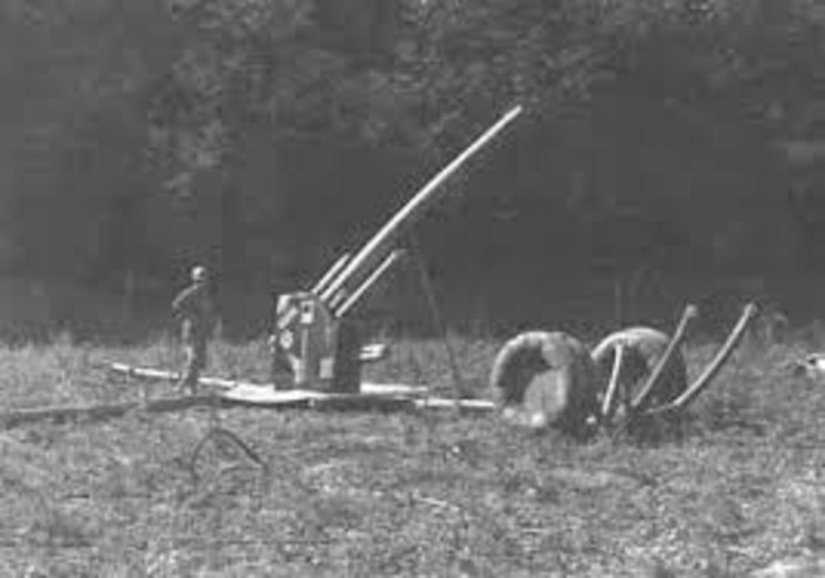 Dummy anti aircraft gun