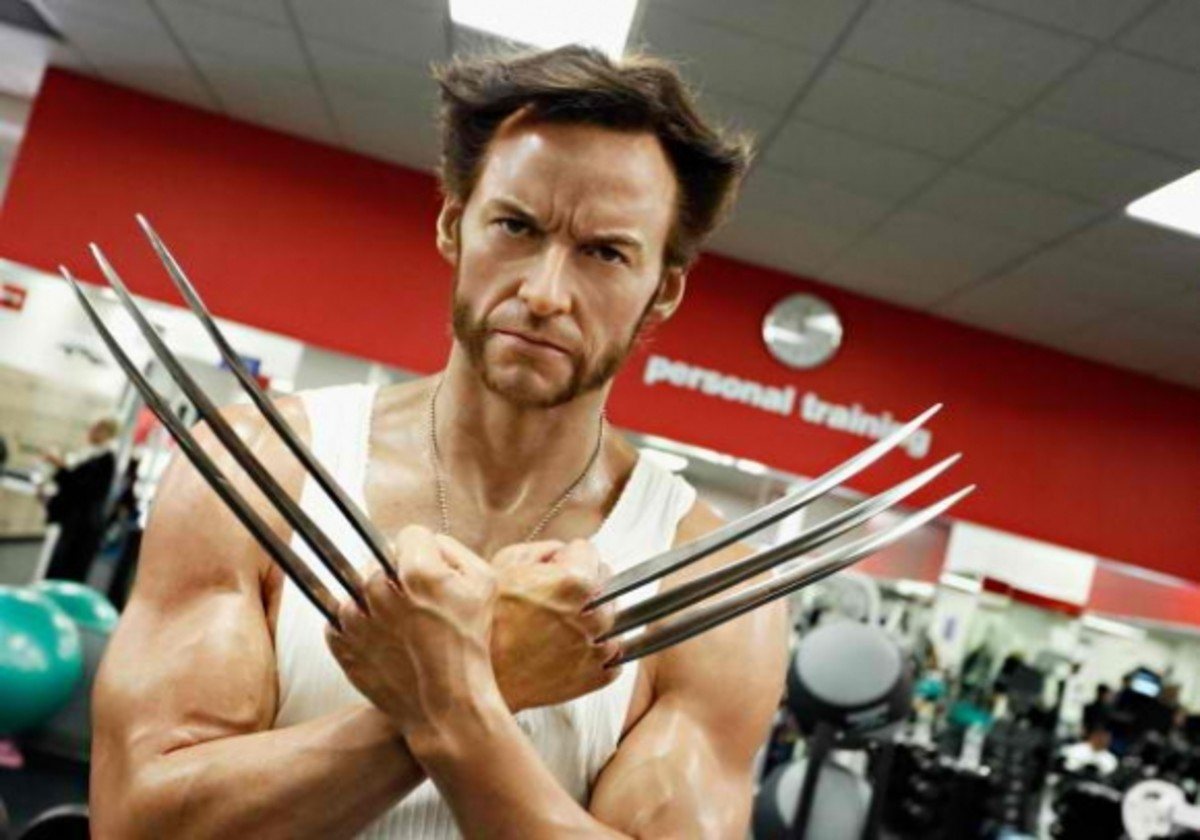 Wax Figure of Character Wolverine At Madame Tussauds In New York