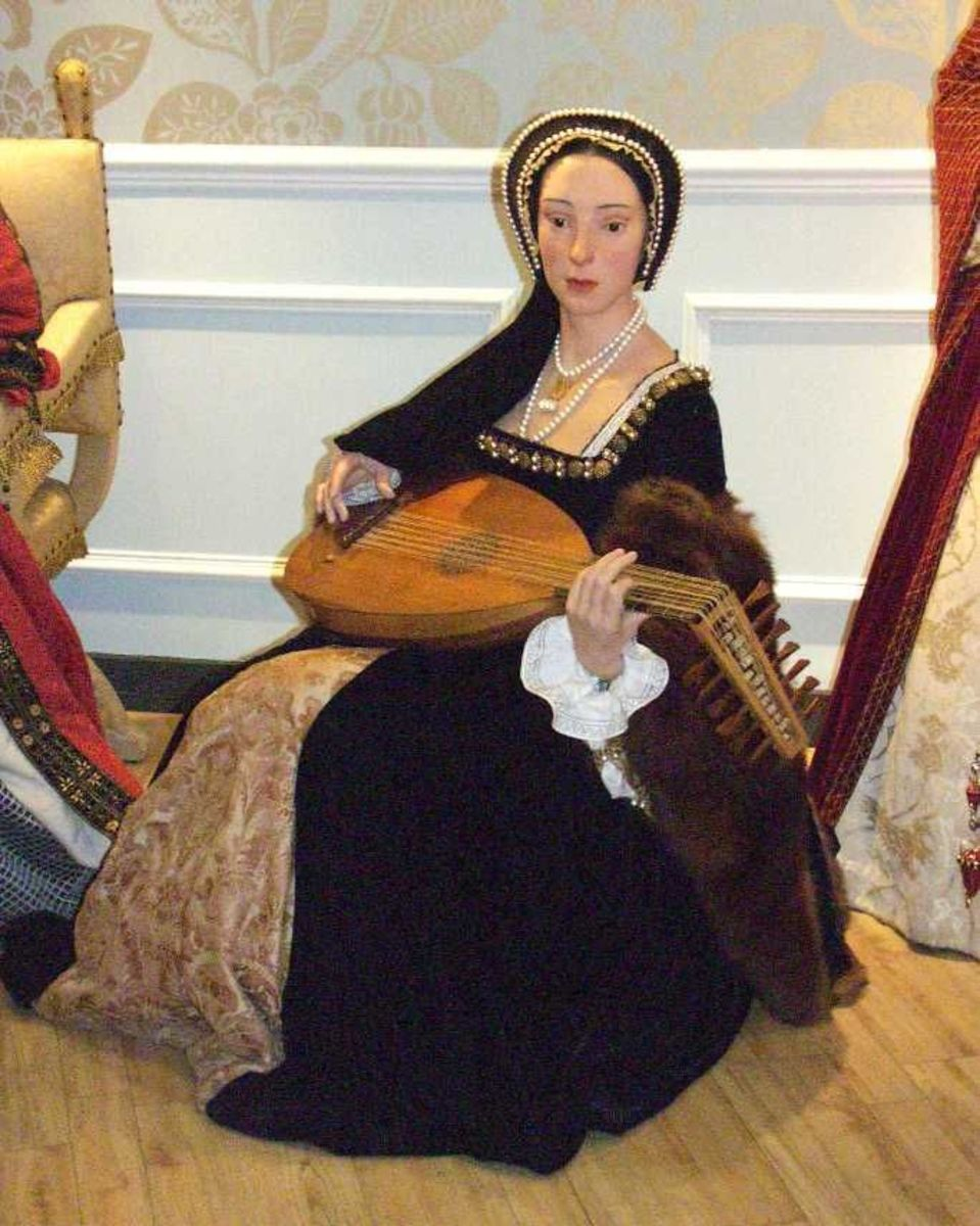 Wax Figure Of Anne Boleyn