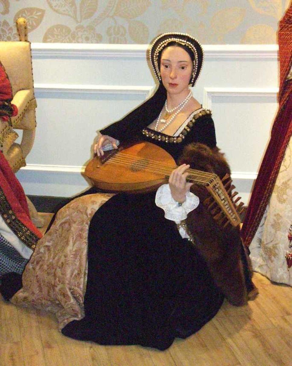 Wax Figure Of Anne Boleyn