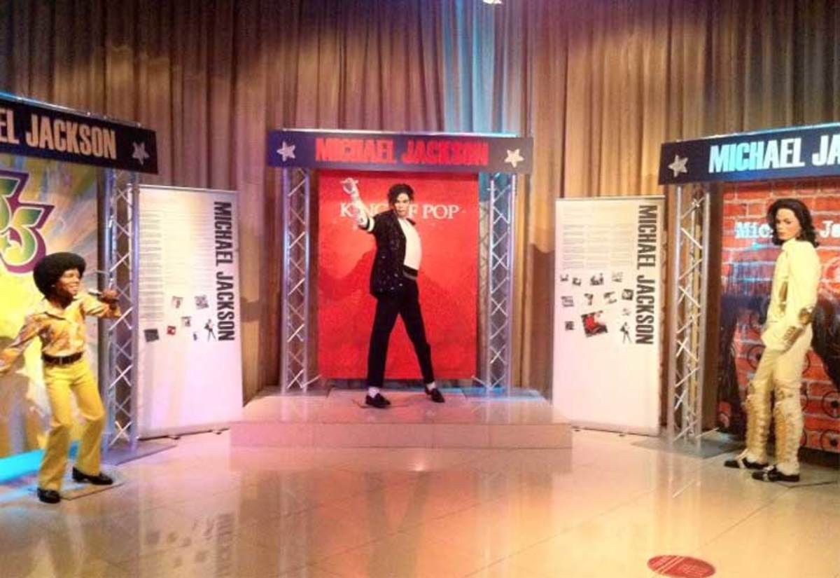 Michael Jackson At Las Vegas Madame Toussauds