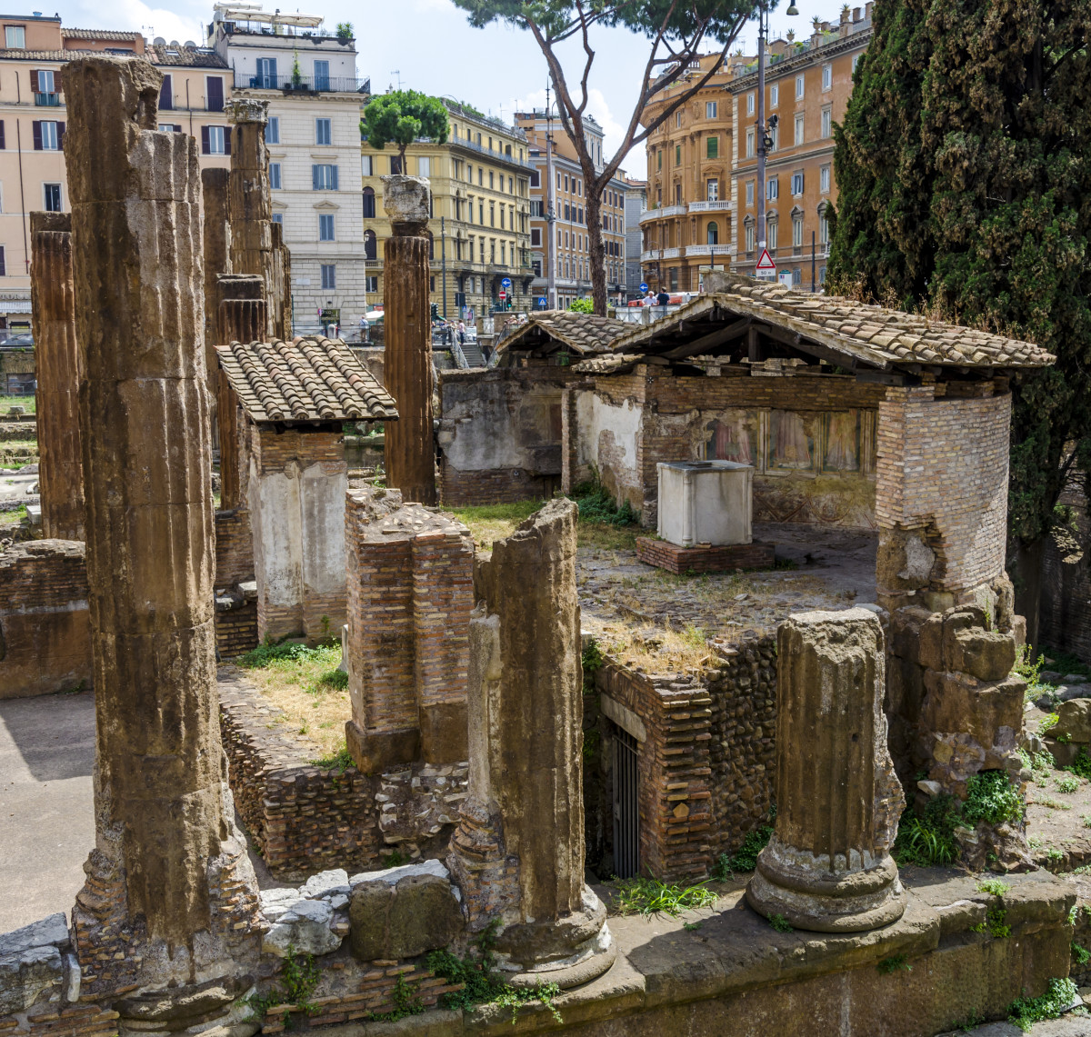 The Sacred Spring Of Juturna, Rome