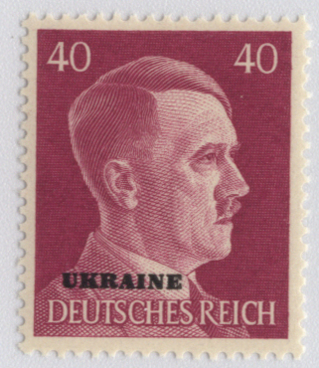 Ukrainian Stamp during World War II