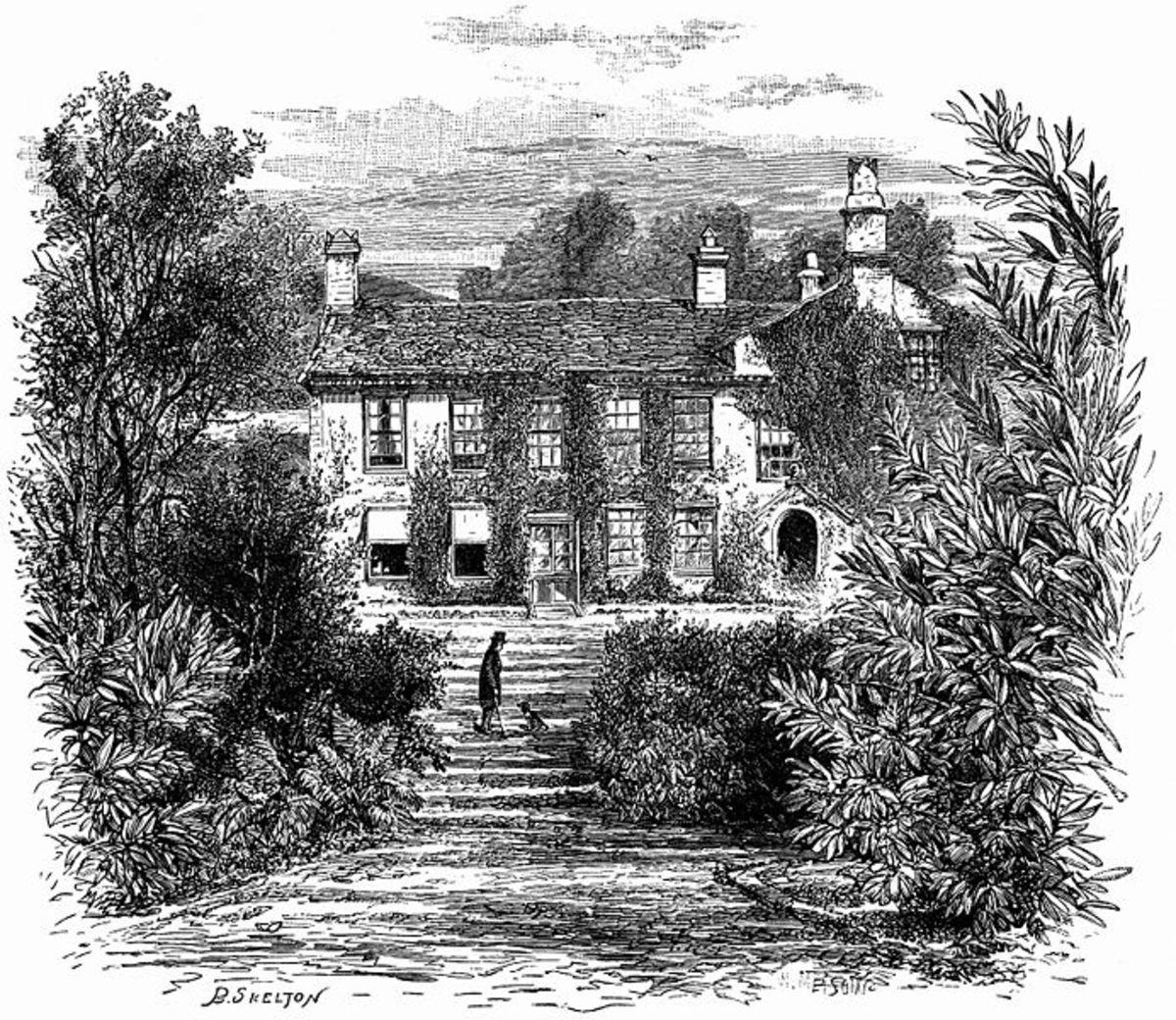 Rydal Mount, circa 1897