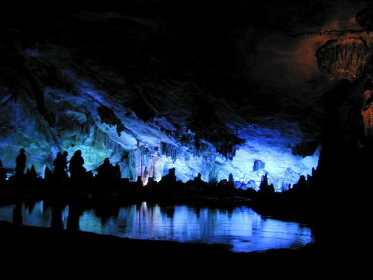 Caves are places where psychedelic rituals are performed by Shamans