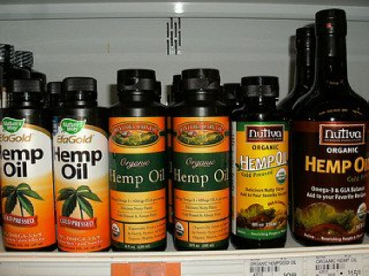 Hemp Oil can be bought in health food stores and even some grocery stores.