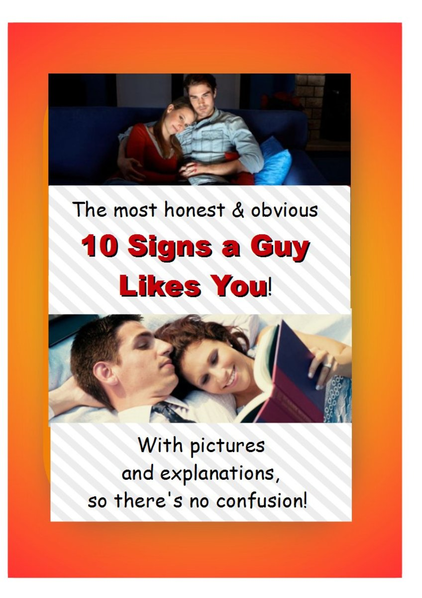 signs a guy still likes you