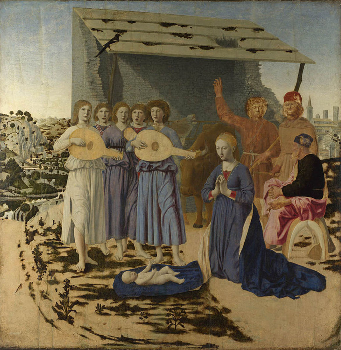Piero della Francesca, Nativity (a. 1470), London National Gallery