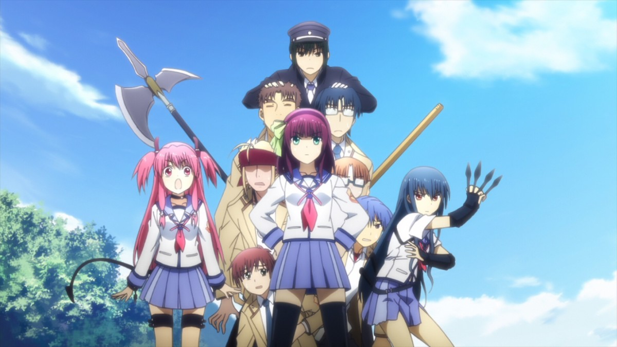 Anime Reviews: Angel Beats!