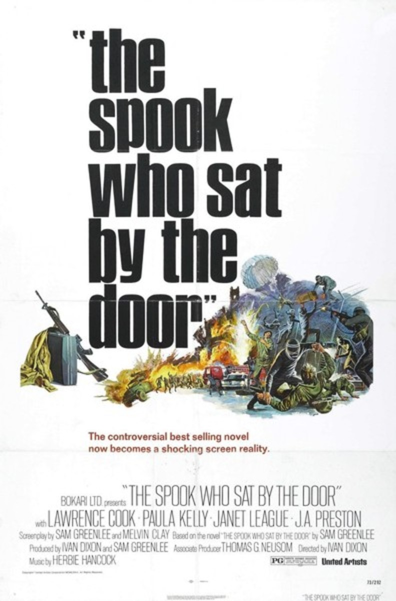 The Spook Who Sat by the Door (1973) Ivan Dixon, Lawrence Cook, Janet League Action, Drama, Crime