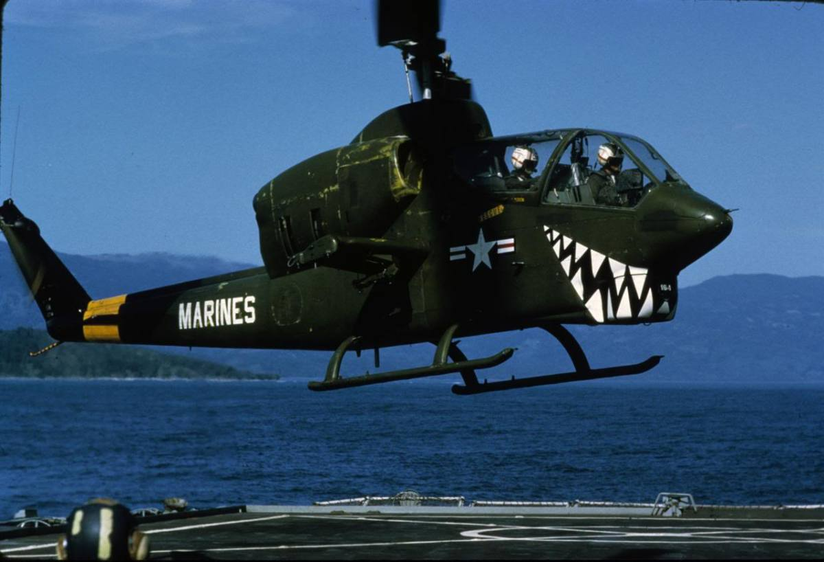 AH-1J Sea Cobra