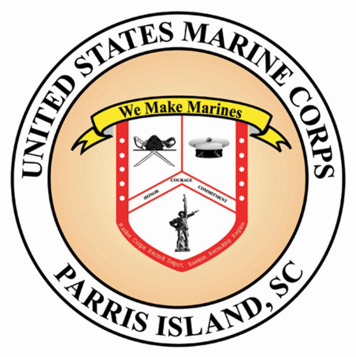 MCRD, PISC logo