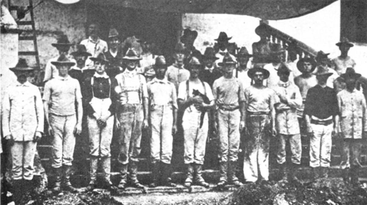 U.S. Marines in Guam, 1899