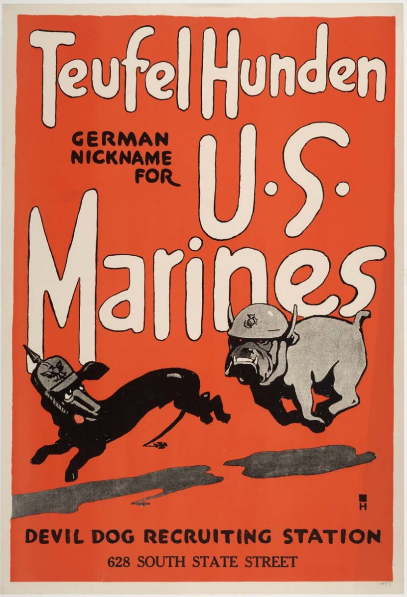 World War I recruiting poster