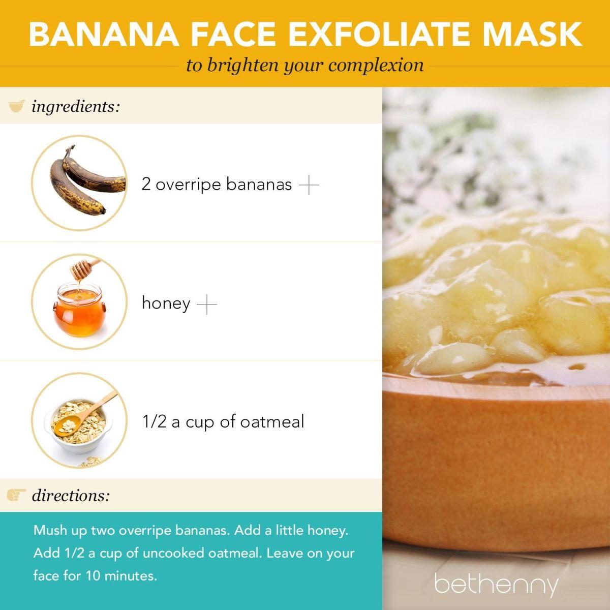 Banana and Oatmeal Mask