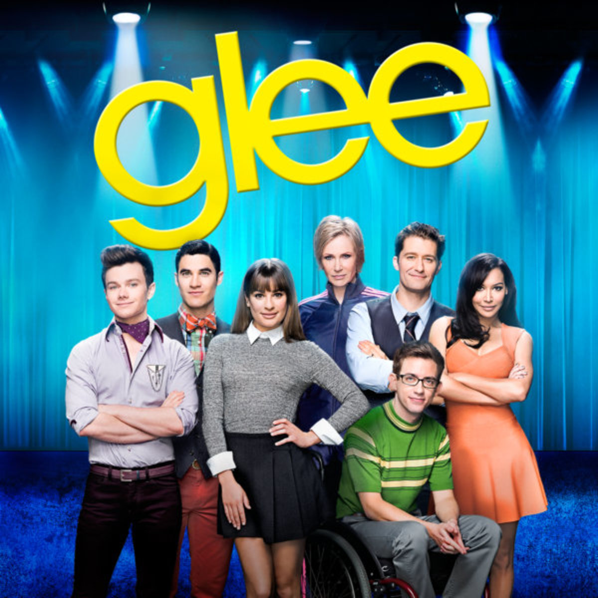Glee TV series is one of the most famous musical TV series of all times, and even one of the most loved among teens.