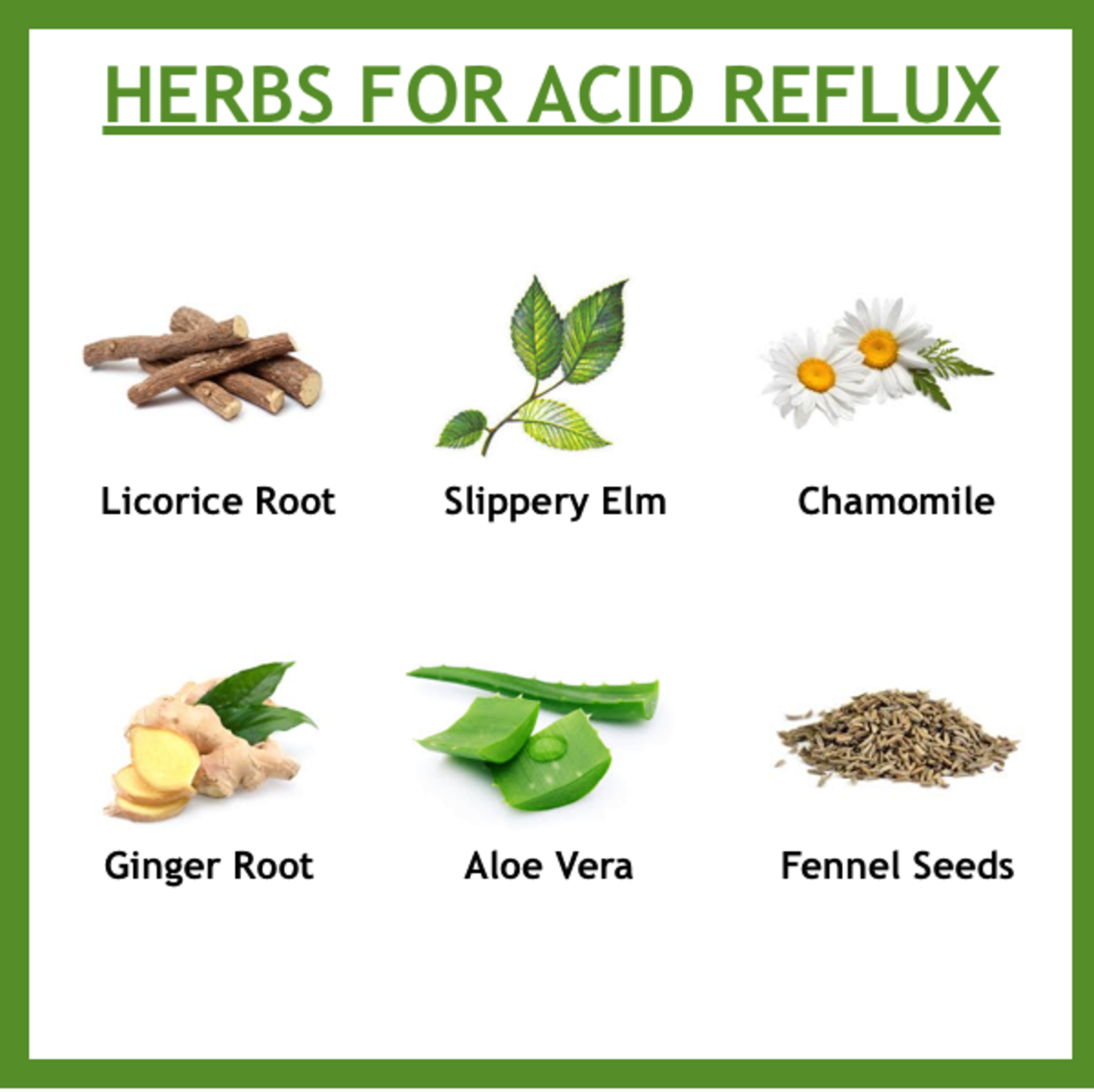 Here is a list of herbal medicines that can help ease and prevent the symptoms of acid reflux. However, please keep in mind, consult with your doctor first before use.