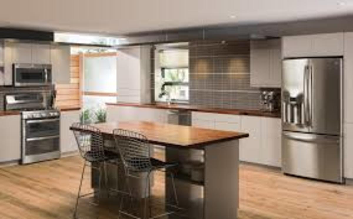 Minimalist kitchen example