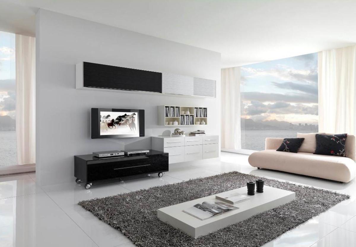Minimalist living room example