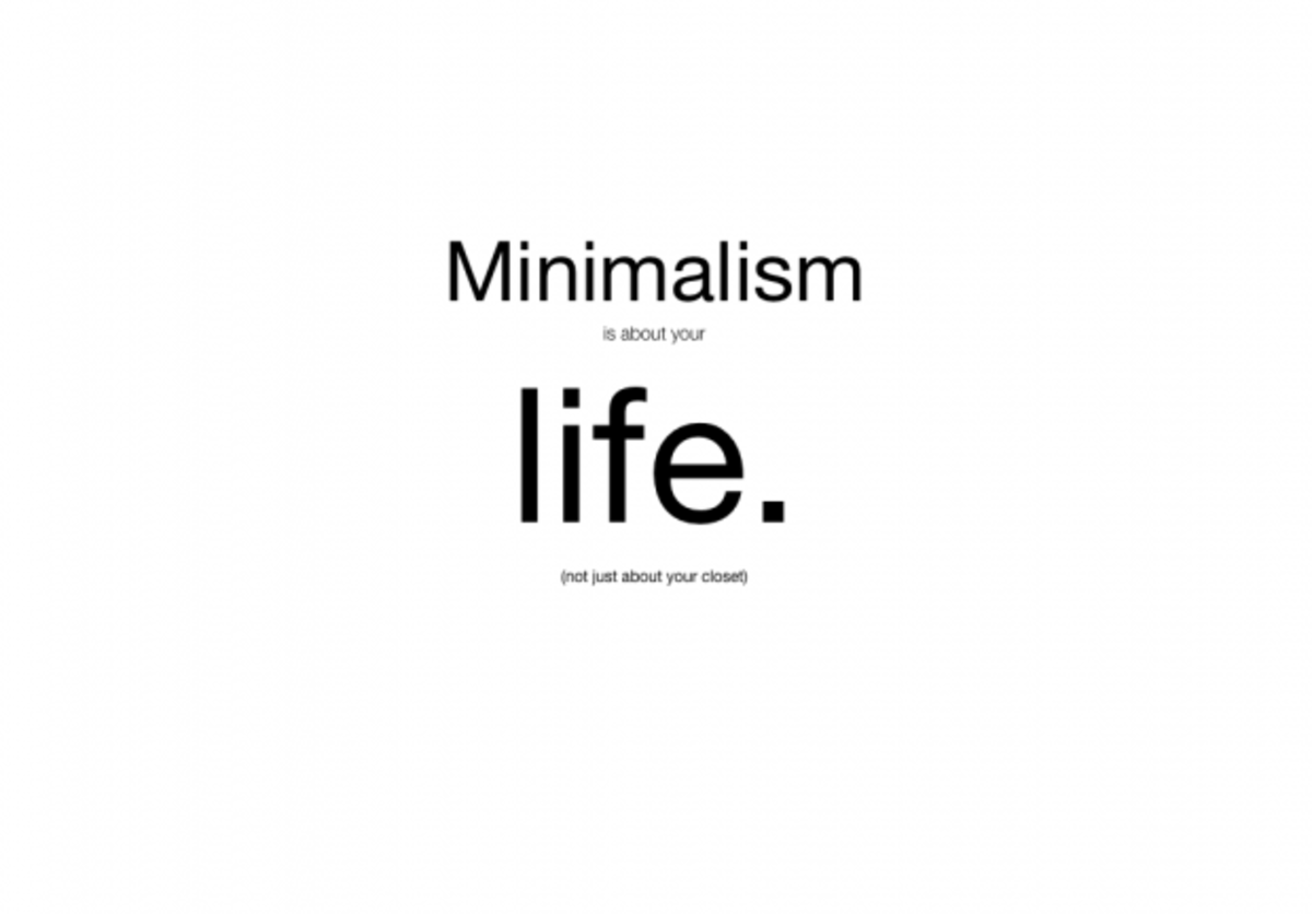 What you ought to know about Minimalism, and why it can help you with your chronic illness, and overall health.