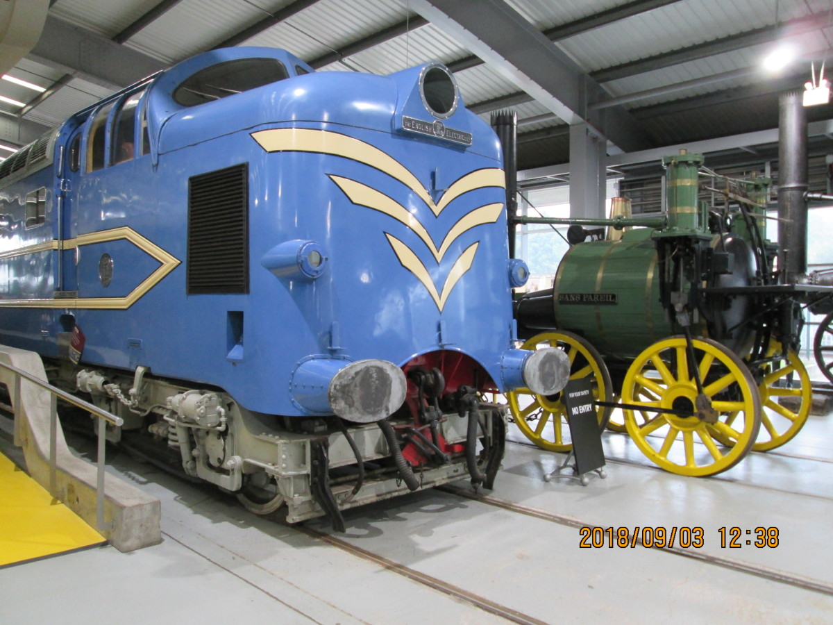 Or have a go at either kit-building or upgrading a ready-to-run Deltic diesel,, seen here in the National Railway Museum's hall at 'Locomotion', Shildon in County Durham (north west of Darlington). Visit the real thing before embarking on a model