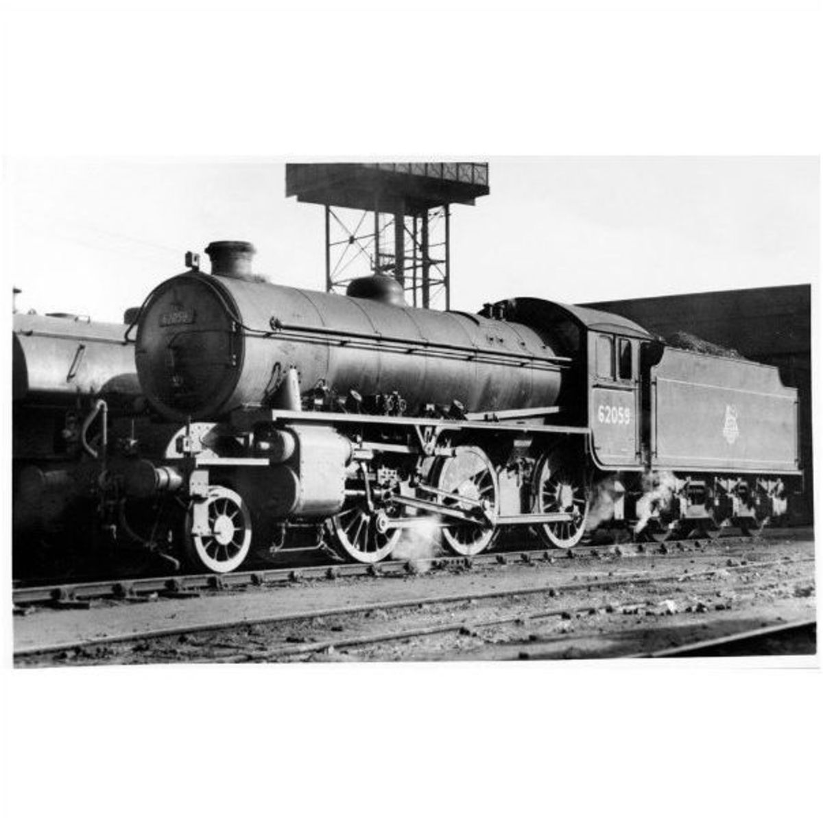 Or you might want to model mid-20th Century British Railways steam... based on a motive power depot, or have a depot as part of a layout.