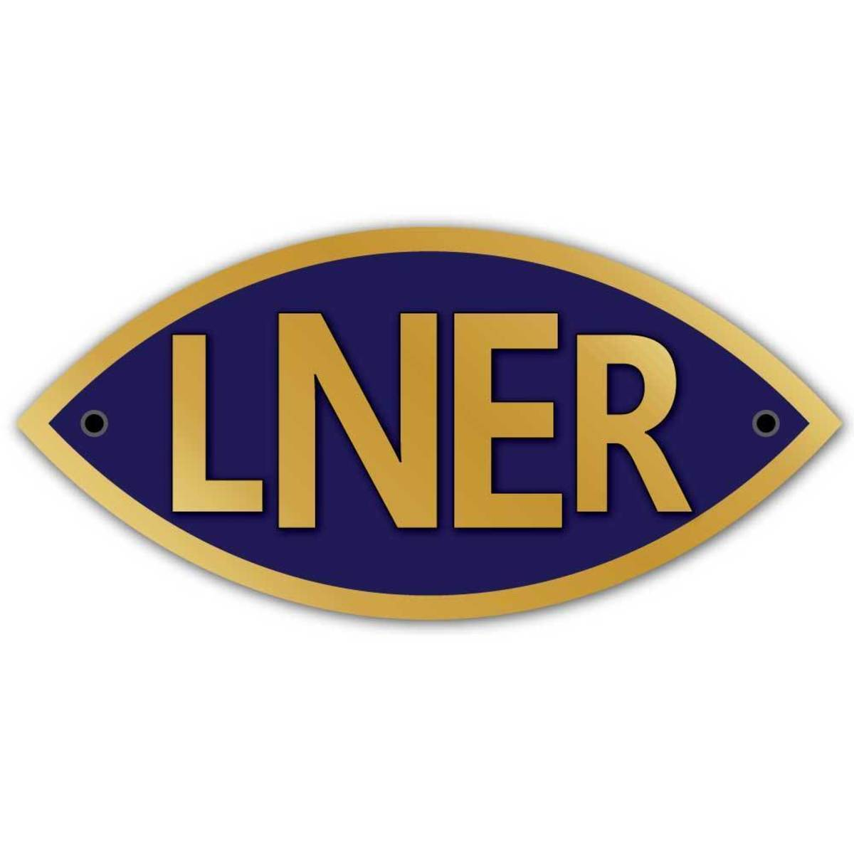From 1923 to 1947 this was the totem of the London& North Eastern Railway - affectionately known as the 'London & Nearly Everywhere Railway'