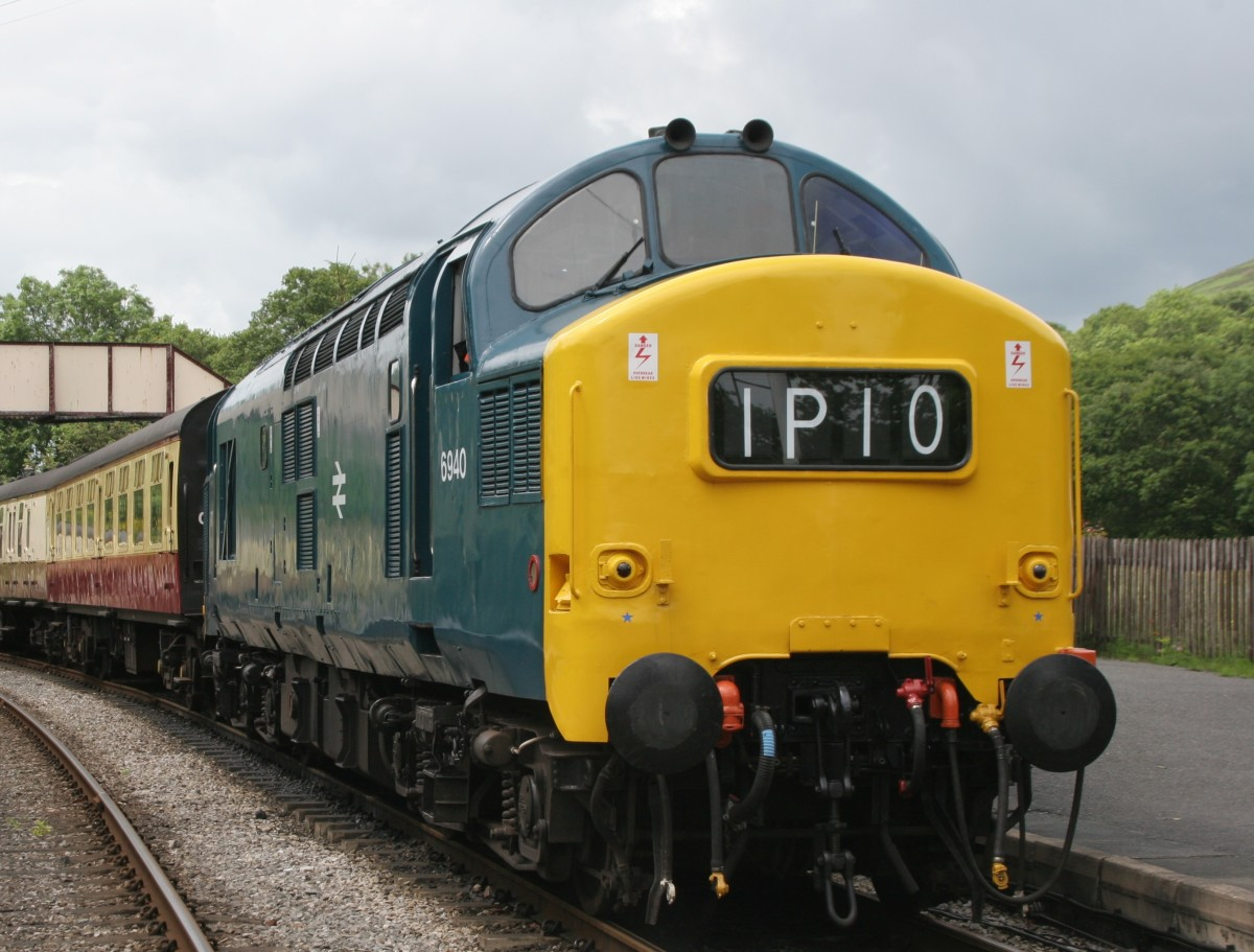 You might be a member of a club in the throes of planning a large layout with Heritage diesels, as this Class 37 on the Llangollen Railway in Wales - or small as...