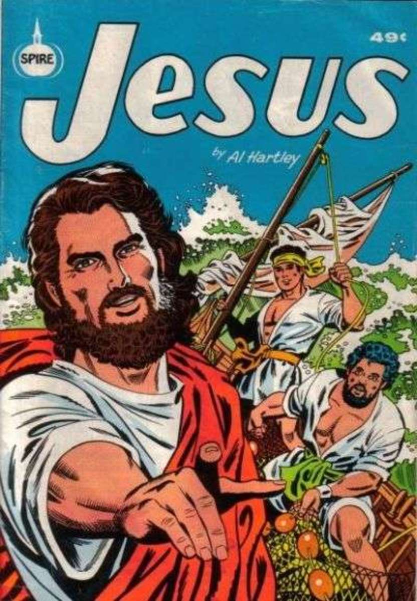 A Jesus comic book