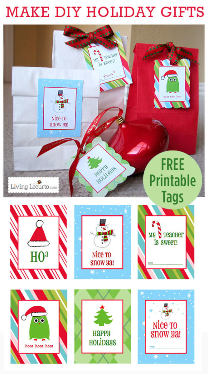 Living Locurto is one of the best places on line to find free printable fun for Christmas and the rest of the year too.
