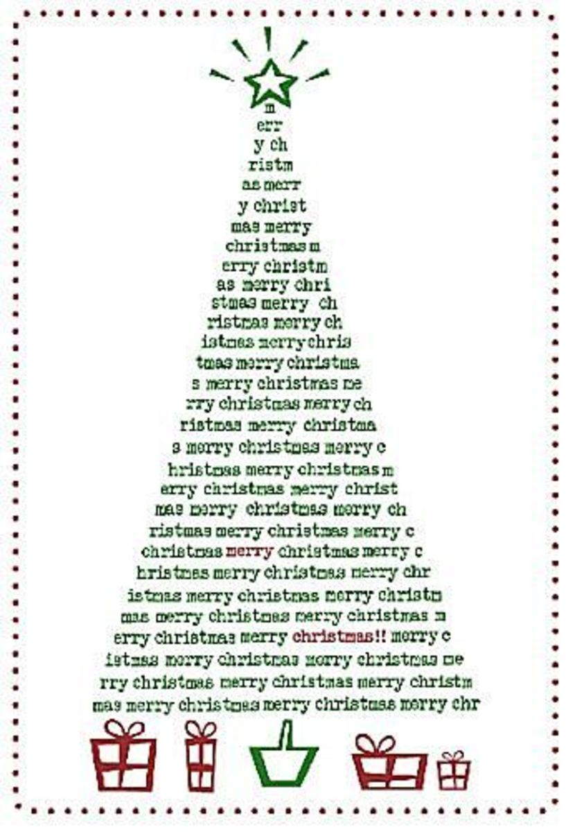 The Balance has printable Christmas cards for you