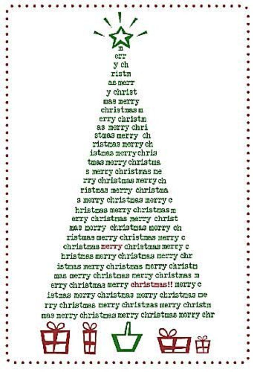 The Balance has printable Christmas cards for you
