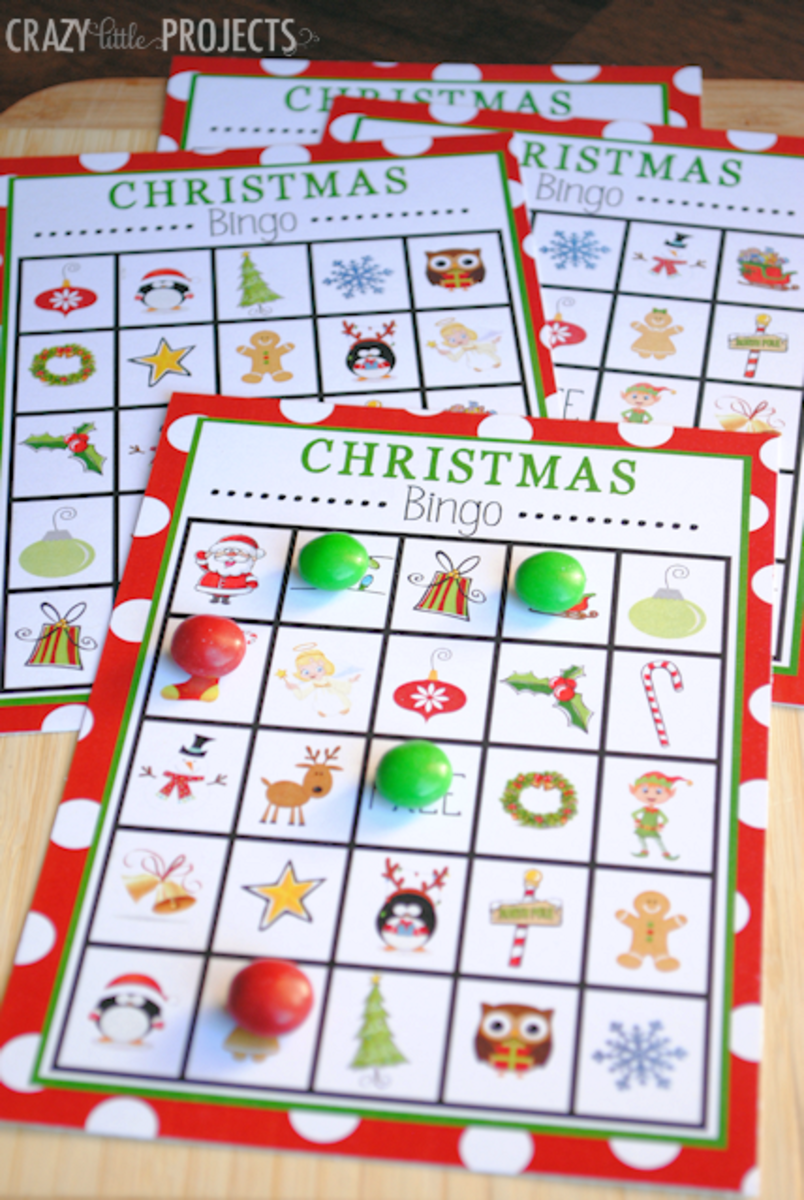 Bingo is a fun way to entertain your guests, young and old!