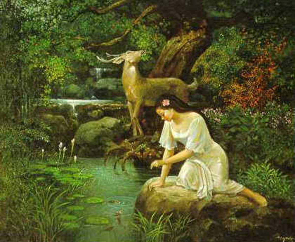 Maria Makiling and the Mountain Goddesses of the Philippines(Part 1)