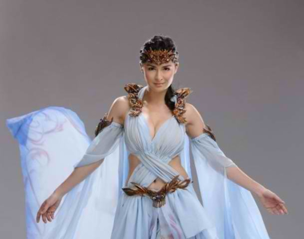 the superhero version of Maria Makiling played by Marian Rivera